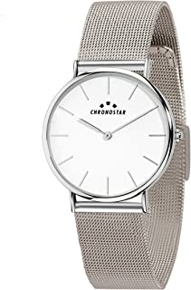Chronostar R3753252507 Preppy Year Round Analog Quartz Silver Watch