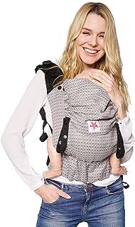 Heart2Heart Stone ✓ Kleinkinder ✓ Ergonomisch ✓ Bio-Baumwolle ✓ ab Sitzalter bis 30kg ✓ GRATIS Beutel XL Babytrage: KOKADI/® Onbu 9-30kg