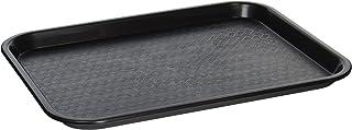 Winco, Black FFT-1014K Fast Food Tray, 10 14-Inch, Medium