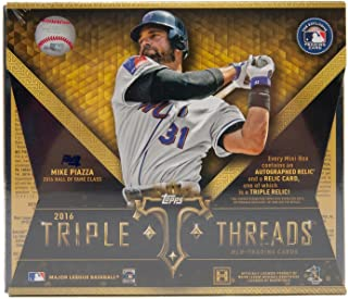 2016 topps triple threads baseball box