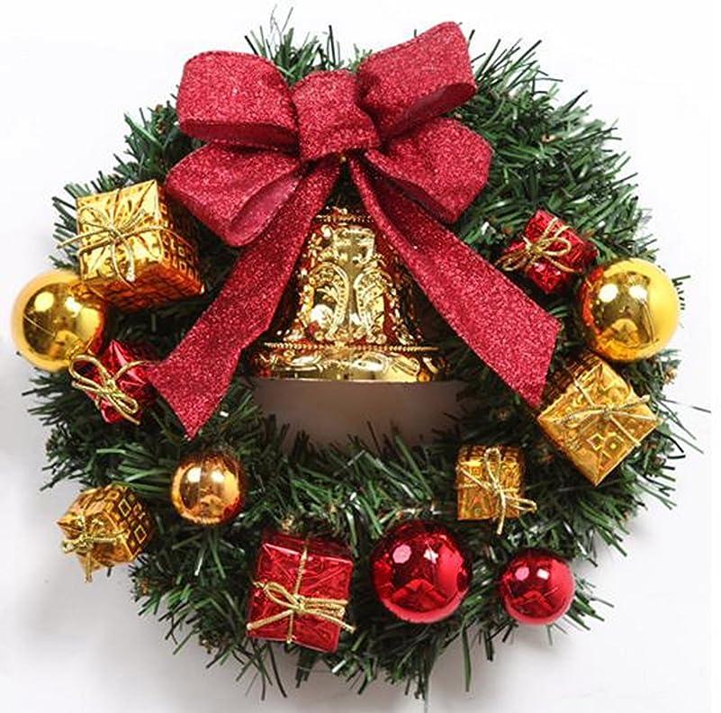 累積メニュートラフクリスマス リース 玄関 ドア ゴージャス かわいい 選べる 3種類 ゴールド レッド パウダースノー (2 レッド)