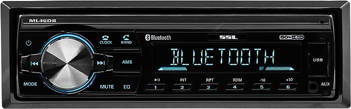 Sound Storm ML46DB Car Receiver - Bluetooth / MP3 / USB, FM Radio ONLY (No AM), (No CD/DVD)