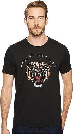 John Varvatos Star U.S.A. - Bowery Tiger Graphic Tee K3543T4B
