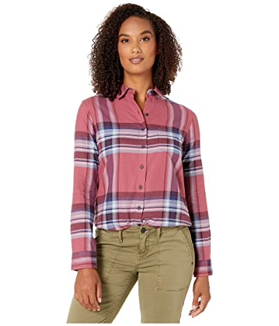 Pendleton Primary Flannel Shirt (Dry Rose Multi Plaid) Women