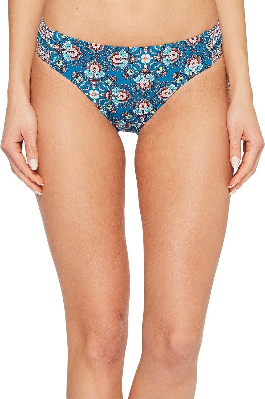 LAUNDRY BY SHELLI SEGAL Women's Butterfly Twin Lattice Tab Side Bikini Bottom