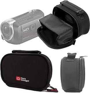 DURAGADGET Funda De Neopreno para Sony HDR-PJ410 / HDR-PJ620 - con Bolsillo Interno Y Cómoda Asa de Transporte
