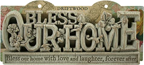Driftwood Words-Bless Our Home