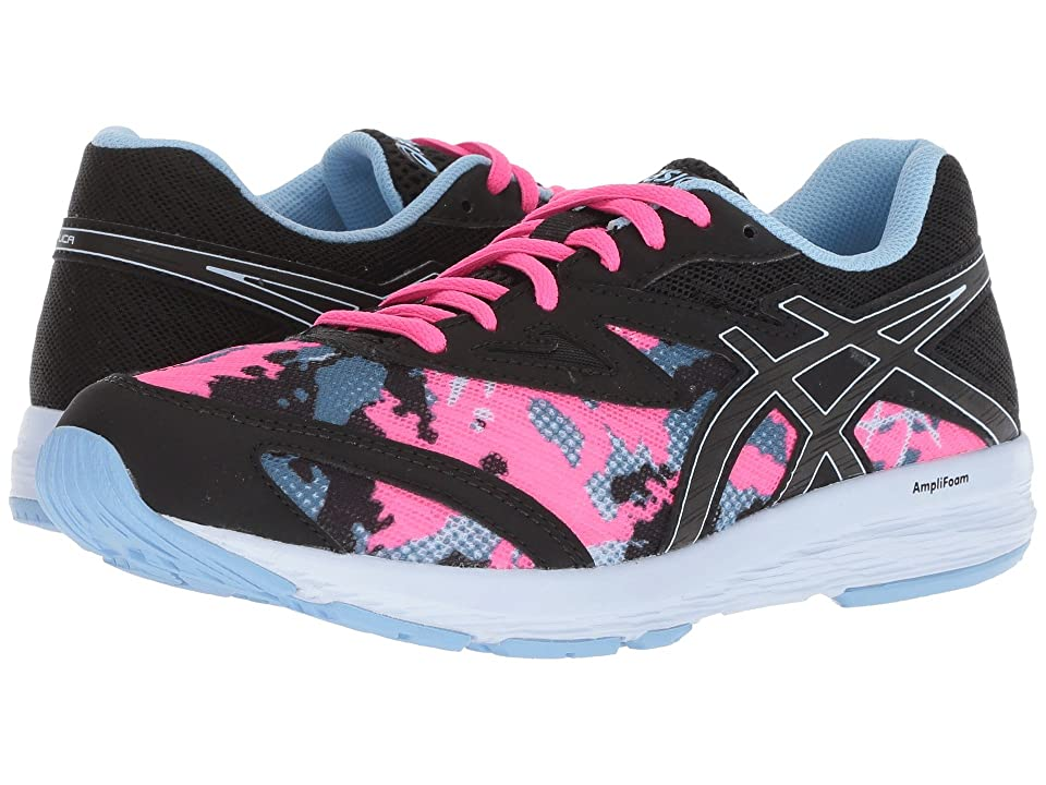 ASICS Kids Amplica (Big Kid) (Hot Pink/Soft Sky) Girls Shoes