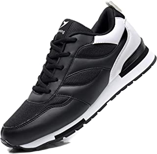 AUPERF Mens Running Shoes Non Slip Tennis Shoes Gym Athletic Sports Walking Fashion Sneakers US 7-12
