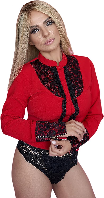 ELLA DALINE Adjustable Long Sleeve Bodysuit