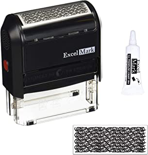 Excelmark Identity Theft Guard Stamp, Large (A3068) with 5cc Refill Ink