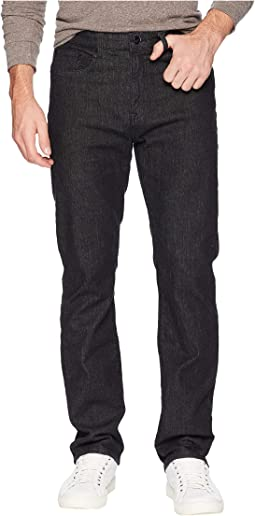 Straight Five-Pocket Denim in Black