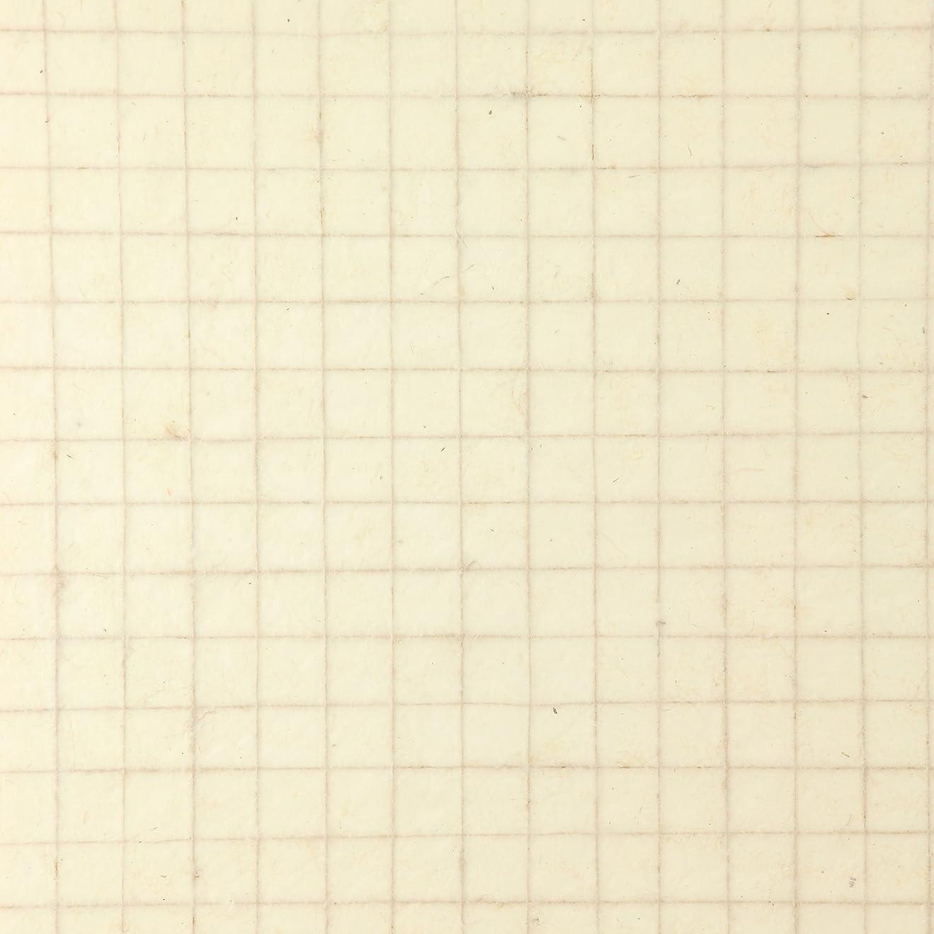 ダーリン根拠金額Simoon(シムーン) ロクタ紙 マテリアル ラティス SM-27 C01 ヒマラヤ 手漉き紙 ナチュラル クラフトペーパー 高さ75×幅51cm