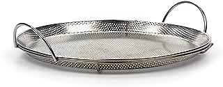 RSVP International Endurance (BQ-PZA) Stainless Steel Precision Pierced Pizza Pan, 11.5