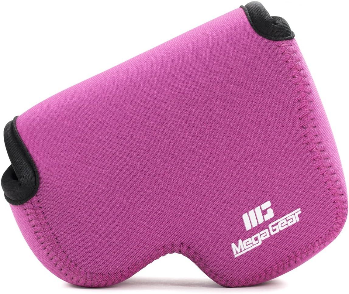 MegaGear ''Ultra Light'' Max 84% OFF Neoprene Camera with sale Bag Case Carabiner