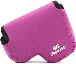 MegaGear ''Ultra Light'' Neoprene Camera Case Bag with Carabiner for Nikon COOLPIX B500 Digital Camera (Hot Pink)