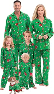 Family Christmas Pajamas Soft - Christmas Pajamas for Family, Green