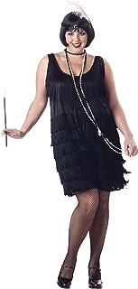 Women's Fashion Flapper Plus Size Costume