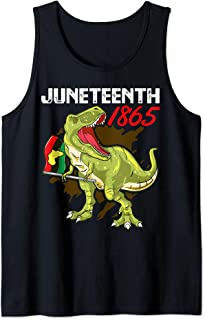 Juneteenth T Rex Black History American African Freedom Day Tank Top