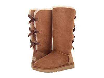 UGG Bailey Bow Tall II (Chestnut) Women