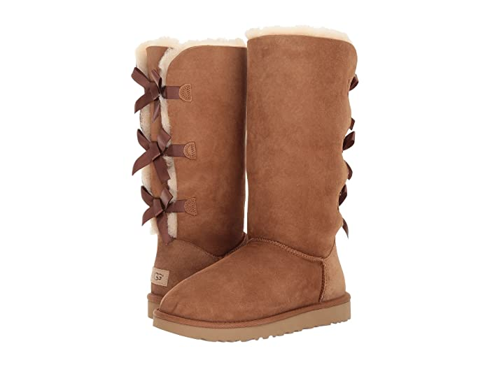 UGG  Bailey Bow Tall II (Chestnut) Womens Boots