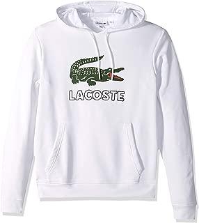 Men's Long Sleeve Graphic Croc Brushed Fleece Jersey Hoodie
