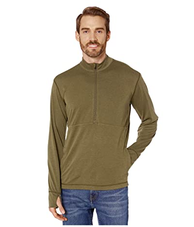 Prana Jarvis 1/2 Zip (Cargo Green) Men