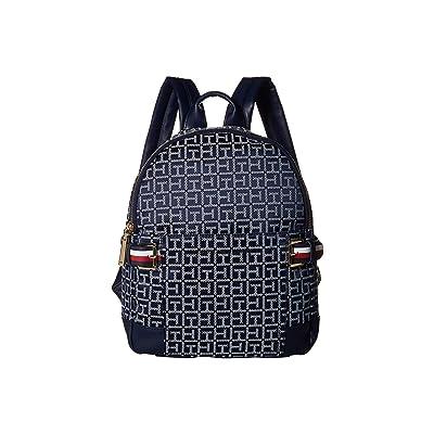 Tommy Hilfiger Meriden Backpack (Navy/White) Backpack Bags