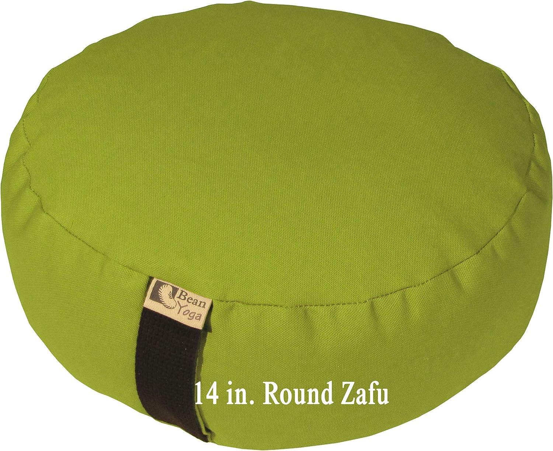 Zafu Meditation Cushion  Yoga  Multiple colors, Sizes and Fabrics  Organic Buckwheat Fill  Made in USA