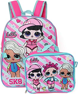 LOL Surprise Backpack with Lunchbox - pink/multi, one size