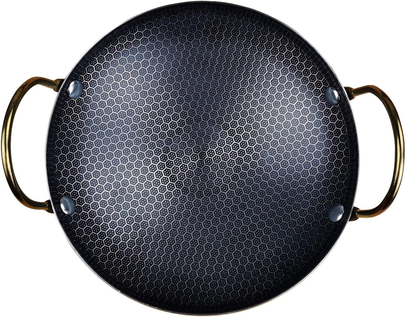 Wok Hammered Carbon Steel Pan with Fry Quantity limited Stir Award Chinese Pans