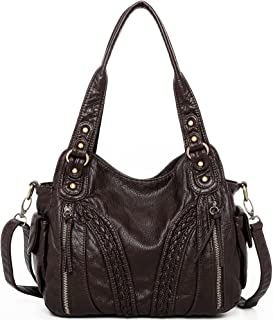 Montana West Shoulder Bag Concealed Carry Purses and Handbags For Women Leather Crossbody Bags