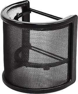 ROTKUEIEE マイクポップガード ポップブロッカー マイクフィルタ 弾性ゴムバンド付き 録音ノイズ防止 U型 金属ネット層 45mm-63mmのマイク対応 宅録 動画投稿 演奏録音 (ポップガード)