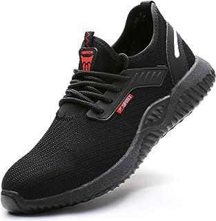 Ucayali Chaussures de Securité Homme Femme Embout Acier Protection Chaussure de Travail Antidérapante Respirante Baskette ...