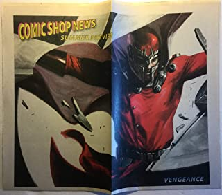 Comic Shop News Summer Preview, 2011 (cover: Vengeance, with Magneto): Batman Incorporated, DC Retroactive, Elric, Archie, Avengelyne, Bionic Man, Locke and Key, Fear Itself, Wolverine, Avengers, etc