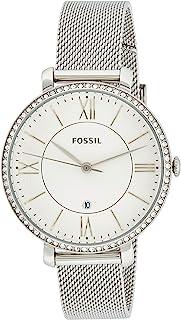 Fossil 32010665 Montre à quartz analogique pour femme en acier inoxydable
