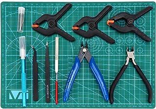 HSEAMALL Kit de 11 outils de modélisme Guandam - Outils de bricolage pour modélisme Bandai Hobby Gundam - Pour réparation ...