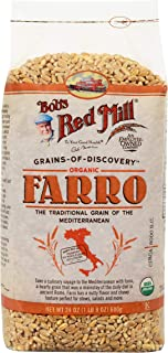 Bob's Red Mill Organic Farro Grain, 24-ounce (Pack of 4)