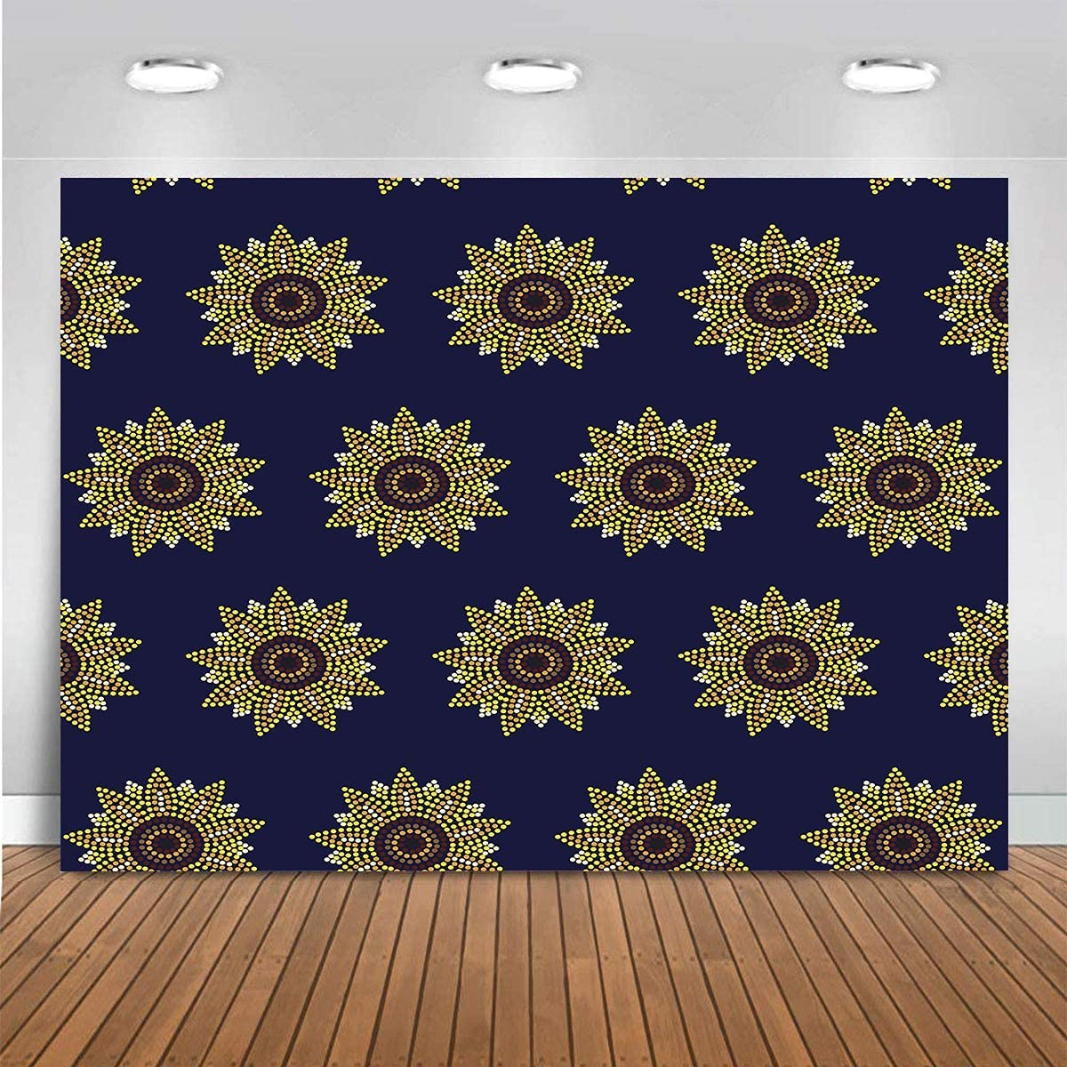 WENJIA Photo Background Floral 2021 spring and summer new Professional P Ranking TOP18 Portrait Sunflower
