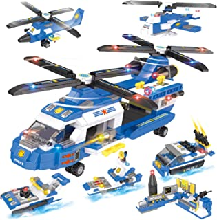 Heavy Lift Helicopter Building Blocks 1648 Pcs, Exercise...