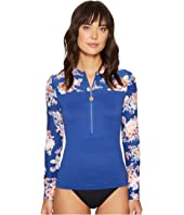 Seafolly - Vintage Wildflower Long Sleeve Sunvest