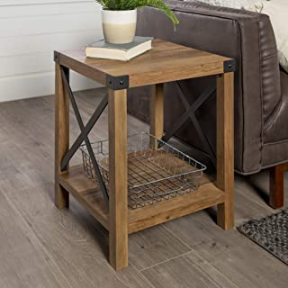 Best rustic furniture end tables Reviews