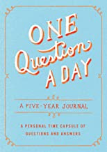 One Question a Day: A Five-Year Journal: A Personal Time Capsule of Questions and Answers PDF