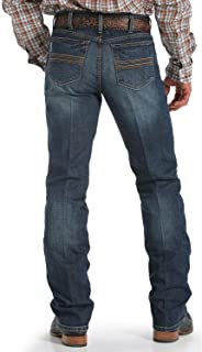 Cinch Men's Silver Label Dark Wash Performance Jeans - Mb98034006 Ind