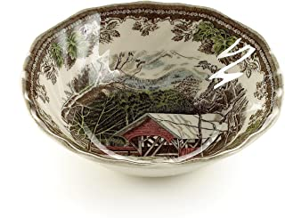 Johnson Brothers Friendly Village 15.2cm Square Salad/Cereal Bowl