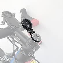 Thinvik Aluminum Alloy Bike Computer Stem Mount for Garmin Edge 1030 1000 820 810 800 520 510 500 25 - Angle Adjustable,Hinge Feature