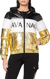 Gianni Kavanagh Contrast Black Kavanagh Jacket Mujer