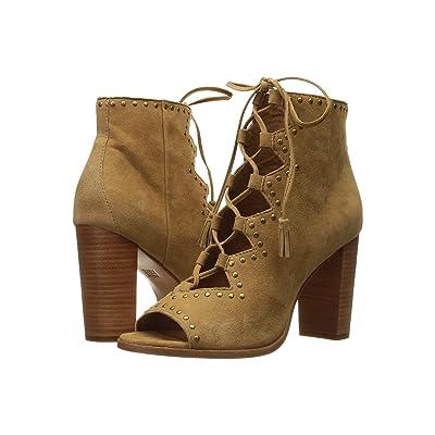 Frye Gabby Ghillie Stud (Sand Suede) High Heels