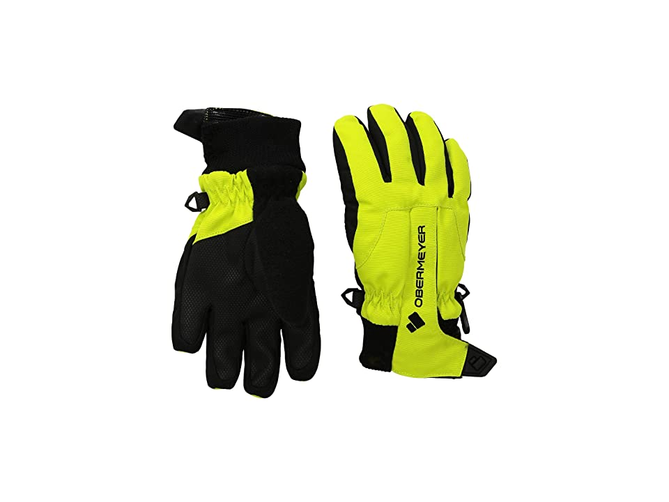 Obermeyer Kids Thumbs Up Gloves (Little Kids/Big Kids) (Green Flash) Extreme Cold Weather Gloves