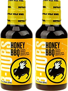Buffalo Wild Wings Barbecue Sauce - Honey BBQ - 20 Fl. Oz. (2 Pack)